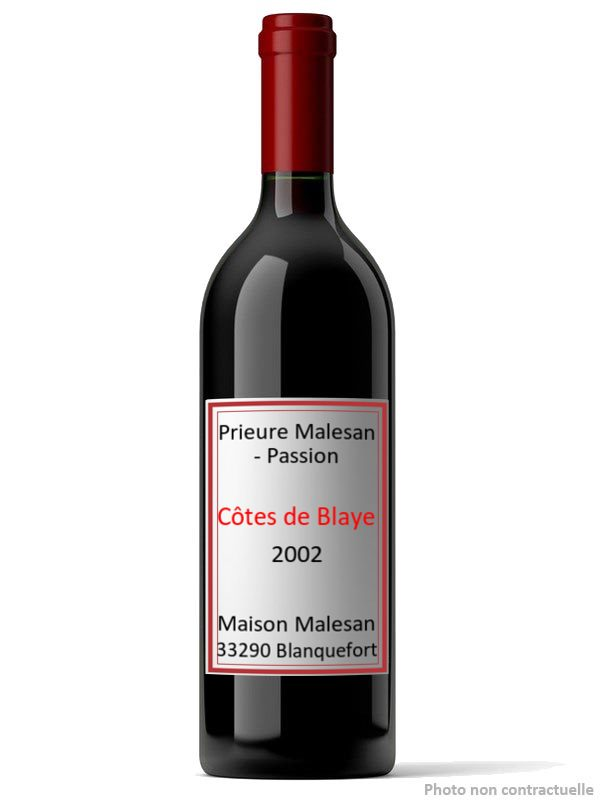 Prieure Malesan - Passion 2002