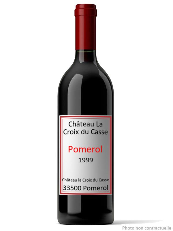 ch teau la croix du casse 1999 pomerol guide des vins de bordeaux. Black Bedroom Furniture Sets. Home Design Ideas